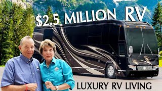 Full Tour Inside a 2.5 Million Dollar RV
