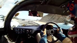 Gulf Porsche 917k Chassis 016 onboard at Rennsport Reunion IV at Laguna Seca