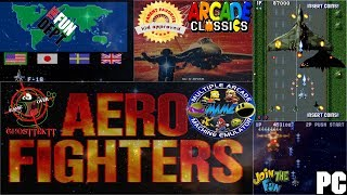 RETRO Games For Family Fun - AERO FIGHTERS (1-2 Player Co-Op)