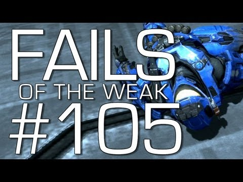 Halo: Reach - Fails of the Weak Volume 105! (Funny Halo Screw-Ups and Bloopers!)