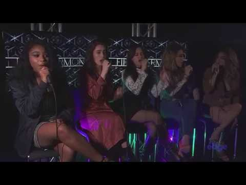 Fifth Harmony perform 'Work From Home' live at The Edge studios