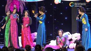 """Lô tô show: Dương Thanh Vàng """"Xởn Tóc"""" Lộ Lộ và cú ăn vạ lầy lội ngay tại sân khấu"""
