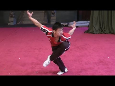 Wushu Eagle Style Form - Instructional Image 1