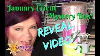 January Cricut Mystery Box Reveal unboxing 2018