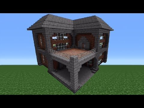Minecraft Tutorial: Brick House - 1