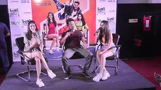 Tara Sutaria interview : with Tiger Shroff and Ananya Pandey at SOTY 2 movie promotion in Ahmedabad