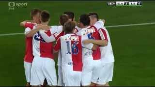 SK Slavia Praha – FC Slovan Liberec  gol na 1-0  BEKIM BALAJ