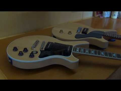 Building A Gibson Les Paul Junior Style Guitar - Part Four