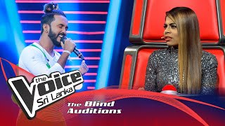 Lahiru Brayan - Mandakini Blind Auditions | The Voice Sri Lanka