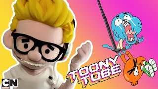 Le Fail de Gumball dans le bureau de M.Brown | Toony Tube | Cartoon Network