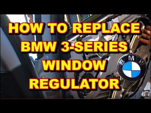 Window Regulator Installation BMW 325i e46
