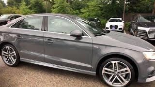 2018 Audi A3 Sedan Lake forest, Highland Park, Chicago, Morton Grove, Northbrook, IL A182722