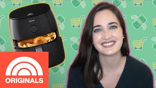 We Tried The Super Popular Philips Airfryer To Make 3 Easy Dishes | The Check Out | TODAY