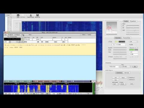 OSX SDR Radio - fldigi