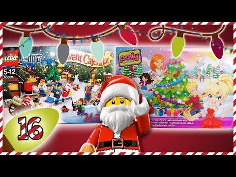 VAIZDELĖDOS :  Lego City ir Polly Pocket advento kalendoriai (#16 diena)