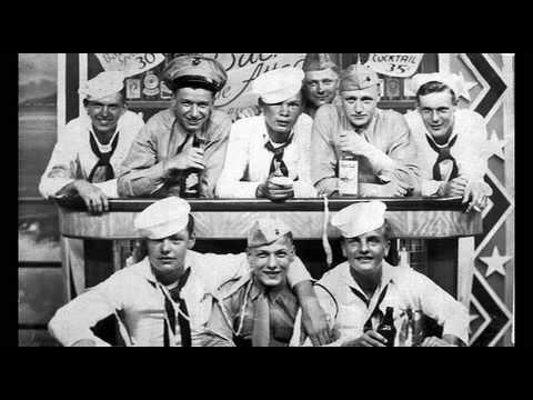 USS John W. Weeks DD-701 w/1940's crew ~ WW2