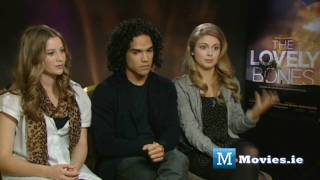 The Lovely Bones - Cast Interviews with Reece Ritchie, Rose McIver & Carolyn Dando
