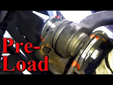 Control Arm Bushing Preload. Important Information!