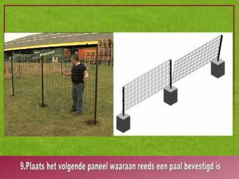 Montaż paneli ogrodzeniowych film