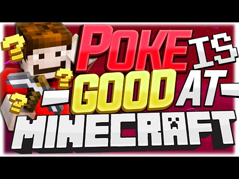 POKE IS GOOD AT MINECRAFT!? ( Minecraft Funny Videos & Moments - Tower Defenders )