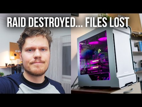 How I Destroyed My Ssd Raid 0 Array