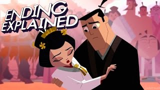"SAMURAI JACK Season 5 (Episode 10 ""CI"") Ending Explained"