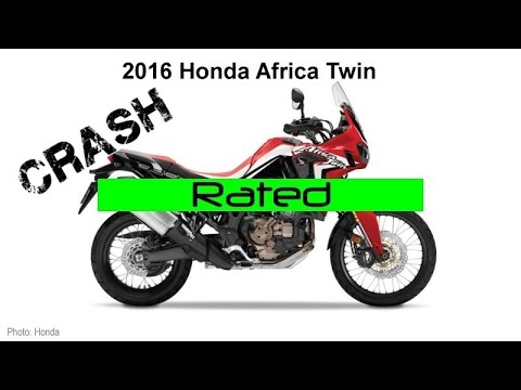 2016 Honda Africa Twin CRF1000L - Crash Rating Review