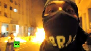 Brazil Boiling: Video of brutal clashes as country gripped b 8/7/13