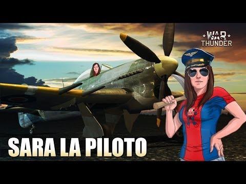 SARA LA PILOTO    JUEGO GRATUITO   WARTHUNDER