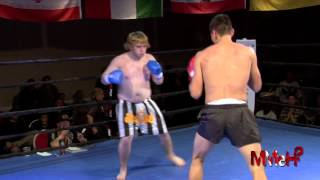 Kickboxing - Alec vs Rackstraw