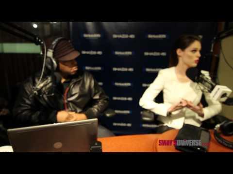 """Coco Rocha and Karolina Kurkova Explain """"The Face"""" on Sway in the Morning"""