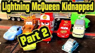 Pixar Cars 3 Lightning McQueen gets Kidnapped by Sterling for The Lemons from Cars 2