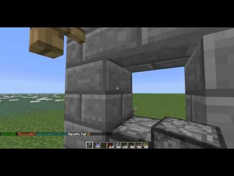 Minecraft Pasti na Hrad Díl.3 Dispenser