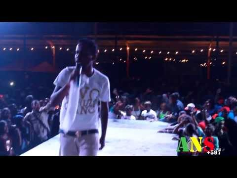 Popcaan Live in Suriname, flamboyantpark (Full video) [ANS597]