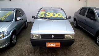 FIAT UNO 1.0 MILLE ELETRONIC 8V 4P - CARROS USADOS E SEMINOVOS - AMS MOTORS