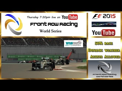 Front Row Racing World Series Abu Dhabi round 19