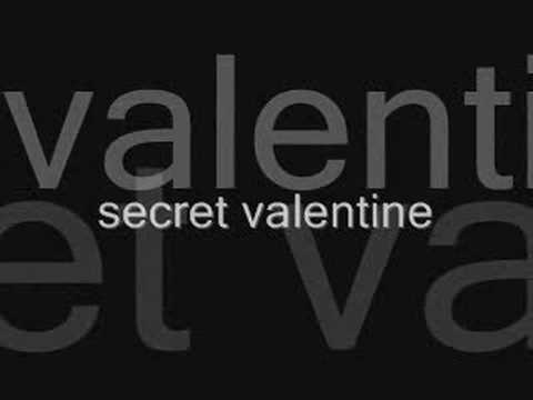 We the Kings- Secret Valentine(LYRICS)