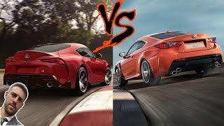 2020 Supra VS Lexus RC F  -  Bavarian VS JDM