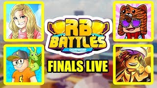 Roblox RB BATTLES CHAMPIONSHIP FINALE LIVE STREAM