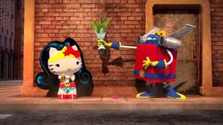 HAPPY MEAL COMMERCIAL HD | Hello Kitty - Justice League