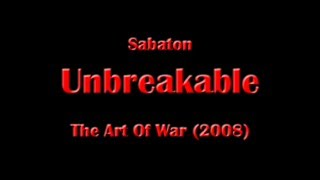 Sabaton - Unbreakable (Lyrics English & Deutsch)