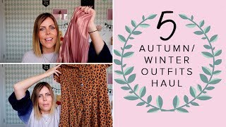 5 AUTUMN & WINTER OUTFITS HAUL AND TRY ON