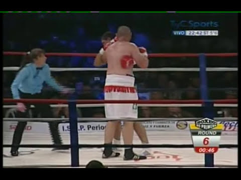 FABIO Mole MOLI vs EMILIO ZARATE II - FULL FIGHT - PELEA COMPLETA