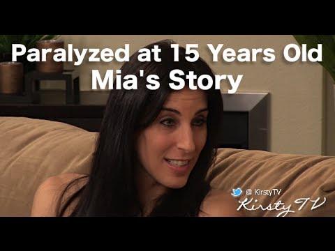 Life in a Wheelchair - Wheelchair Challenge for Mia Schaikewitz