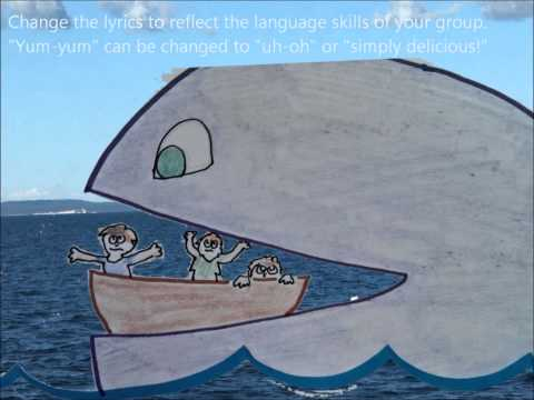 "Summer Camp Activity ""Whale Song""  with actions &  motions"