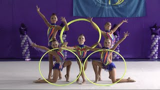Group Rhythmic Gymnasts  Hoop