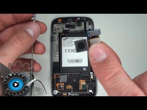 Samsung Galaxy S3 Hauptkamera Wechseln Tauschen unter 20€ Reparieren[Deutsch/German]Camera Repair