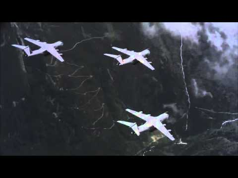 Five POWERFUL Airbus Military A400M Heavy Airlifter flying in formation