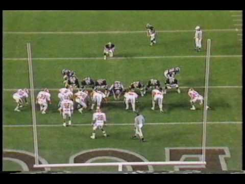 1987- 4th Qtr- Brad Edwards Picks off Clemson