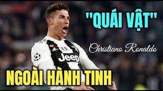 """""""Quái vật"""" Ronaldo bật chế độ siêu nhân lập hattrick đưa Juventus vào Tứ kết Champions League"""